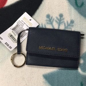 Michael Kors Genuine Leather Coin Purse
